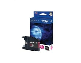 Brother LC1280XLM (Yield: 1,200 Pages) Magenta Ink Cartridge