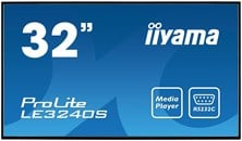 Iiyama ProLite LE3240S (31.5 inch) LED Backlit LCD Display 1400:1 350cd/m2 (1920x1080) 8ms VGA/DVI/HDMI (Black)