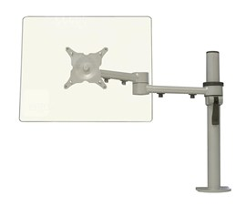 CMS Ergo Arm Mounting Kit with Height Adjustment (Silver) for up to 23 inch Displays