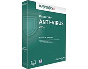 Kaspersky Lab Anti-Virus 2014 3 User 1 Year DVD Software