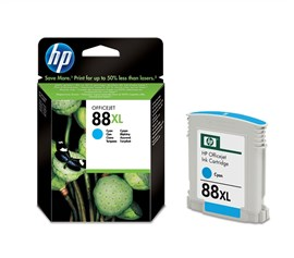 HP No.88 Large 17ml Cyan Ink Cartridge