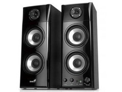 Genius SP-HF1800A Three Way Hi-Fi Wood Speakers