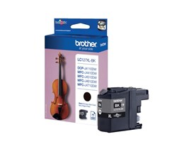 Brother LC127XLBK (Yield: 1,200 Pages) Black Ink Cartridge