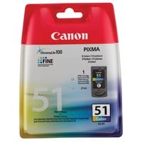 Canon CL-51 FINE High Yield Ink Cartridge (Colour)