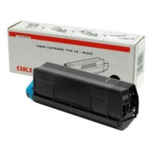 OKI Toner Cartridge (Black) for C5200/5400 Colour Printers (Yield 3,000 Pages)