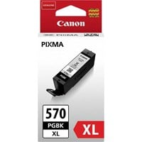 Canon PGI-570PGBK XL (Black) Ink Cartridge (Yield 500 Pages)