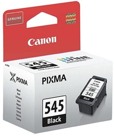 Canon PG-545 (Black) Ink Cartridge (Yield 180 Pages) Blister with Security for Pixma MG2250, MG2450, MG2550