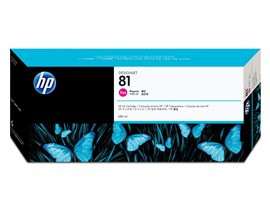 HP 81 Magenta Ink Cartridge (680ml) for the 5000 and 5000PS