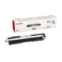 Canon 729 (Yield: 1,000 Pages) Cyan Toner Cartridge