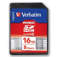 Verbatim SecureDigital SDHC Class10 16GB