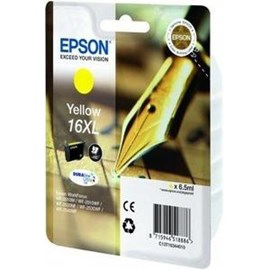 Epson Pen and Crossword 16XL (Yield 450 pages) Yellow 6.5ml Ink Cartridge