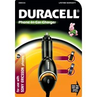 Duracell Car Charger - for Sony Ericson / Sony