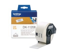 Brother DK-11208 (38mm x 90mm) Large Address Labels (400 Labels)