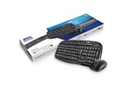 LMS Data KM9001W Multimedia Wireless Keyboard and Optical Mouse