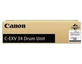 Canon C-EXV 34 (Black) Image Drum Unit (Yield 50,000 Pages) for ImageRUNNER 2020C/2030C Printers