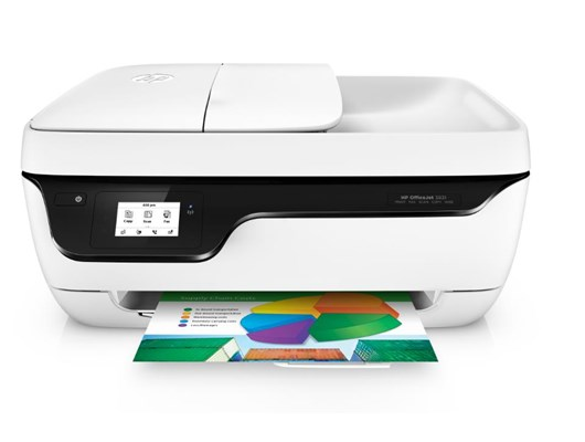 HP OfficeJet 3831 (A4) Colour Inkjet All-in-One Wireless Printer (Print/Copy/Scan/Fax) 512MB 128MB Flash 2.2 inch Touch Display