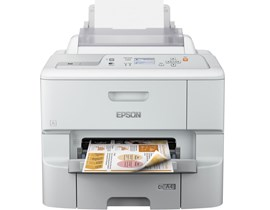 Epson WorkForce Pro WF-6090DW (A4) Colour Inkjet Wireless Printer 5.6cm Mono LCD 34ppm (Mono) 34ppm (Colour) 65,000 (MDC)