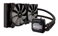 Corsair Hydro Series H110i Extreme Performance Liquid CPU Cooler - AM4 Socket Compatible