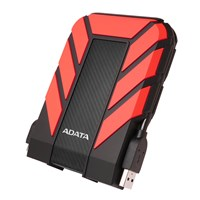 Adata HD710 Pro 1TB Mobile External Hard Drive in Red - USB3.0