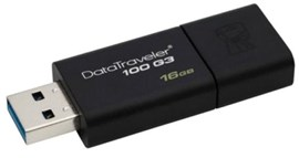 Kingston DataTraveler100 G3 16GB USB 3.0 Drive