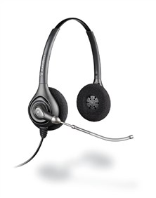 Plantronics SupraPlus HW261/A Wideband Binaural Voice Tube Headset
