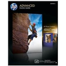 HP Advanced (13x18cm) 250g/m2 Glossy Photo Paper Borderless (White) Pack of 25 Sheets