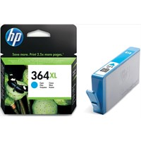 HP 364XL (Yield: 750 Pages) Cyan Ink Cartridge
