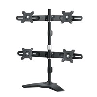 AG Neovo DMS-01Q Quadruple-Display Stand (Black/Silver)