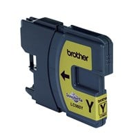 Brother LC980Y Inkjet Cartridge (Yellow)