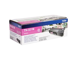 Brother TN-321M (Yield: 1,500 Pages) Magenta Toner Cartridge