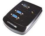 StarTech.com Converge A/V 2 Port VGA Video Splitter Wall Mountable Video splitter 2 ports cascadable