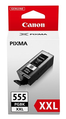 Canon PGI-555XXL (Black) High Capacity Ink Cartridge (Yield 1,000 Pages) XXL
