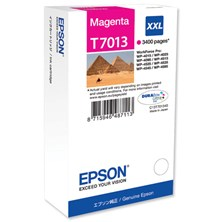 Epson T7013XXL (Yield 3400) Extra High Capacity Ink Cartridge (Magenta)