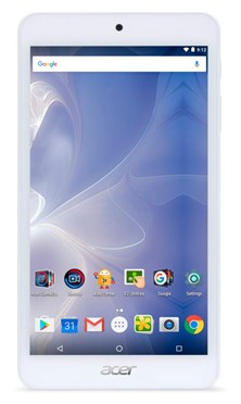 Acer Iconia One 7 B1-780 (7 inch) Tablet PC Cortex (A53) 1.3GHz 1GB 16GB WLAN BT Camera Android 6.0 Marshmallow (White)