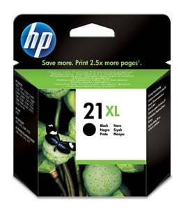 HP 21XL Black Inkjet Print Cartridge (Yield 475 Pages)