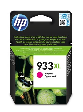 HP 933XL (Yield 825 Pages) High Yield Original Ink Cartridge (Magenta)