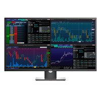 Dell P4317Q 43 inch LED IPS Monitor - 3840 x 2160, 8ms, Speakers