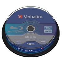 Verbatim BD-R DL 50GB 6X 10Pack Spindle