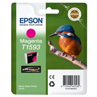 Epson Kingfisher T1593 UltraChrome Hi-Gloss2 Vivid Magenta Ink Cartridge