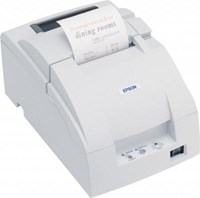 Epson TM-U220B Impact Dot Matrix Receipt Printer 4.70lps (40 Columns, 16.00cpi) Serial Cutter Power Supply (Cool White)