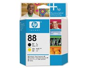 HP 88 Black and Yellow Inkjet Cartridge