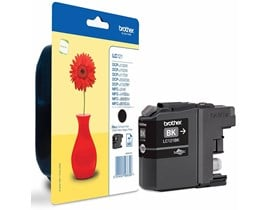 Brother LC121BK (Yield: 300 Pages) Black Ink Cartridge