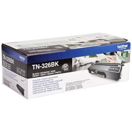 Brother TN-326BK (Yield: 4,000 Pages) Black Toner Cartridge