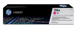 HP 126A (Yield: 1,000 Pages) Magenta Toner Cartridge
