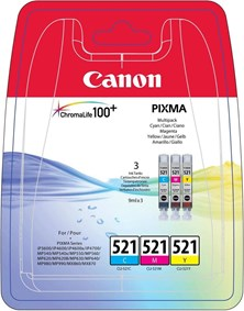 Canon CLI-521 Multipack Ink