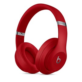 Apple Beats Studio3 Over-Ear Noise-Cancelling Wireless Headphones (Red)
