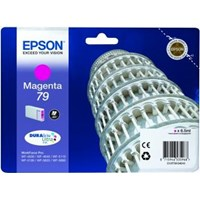 Epson Tower of Pisa 79 (Yield: 800 Pages) DURABrite Magenta Ink Cartridge