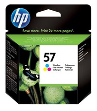 HP C6657AE (57) Printhead color, 500 pages, 17ml