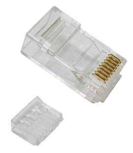 Cat 6 RJ-45 Plug Climp Connectors