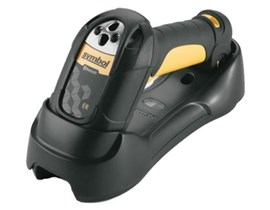 Zebra LS3578-ER Cordless Bluetooth Barcode Scanner with USB Kit, Cradle, and Power Cord (Black/Yellow)